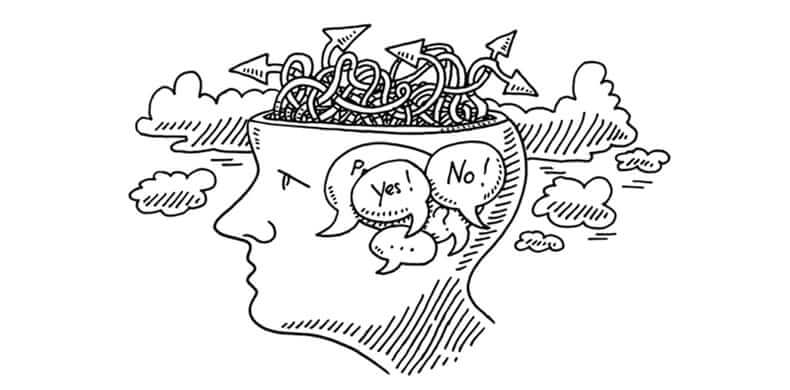 Cuộc sống của người hướng nội: Khá là khó khăn trong việc đưa ra quyết định nào đó